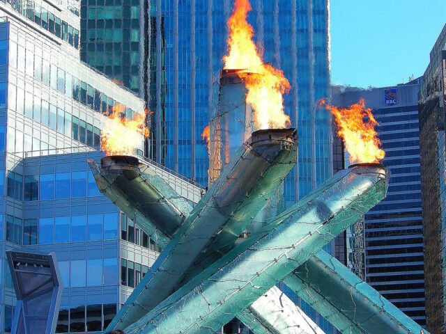 Vancouver Olympic Torch sports teams travel guide