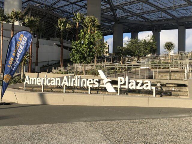 SoFi Stadium American Airlines Plaza