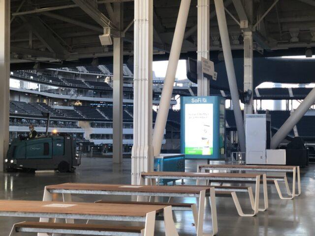 SoFi Stadium concourse