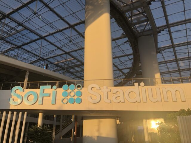 SoFi Stadium signage