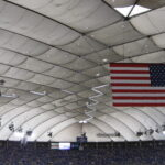 Roof of the Metrodome in Minneapolis