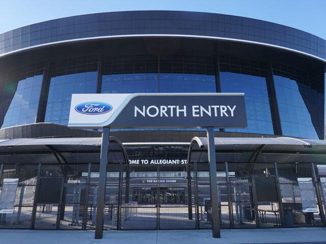 Allegiant Stadium North Entry Las Vegas
