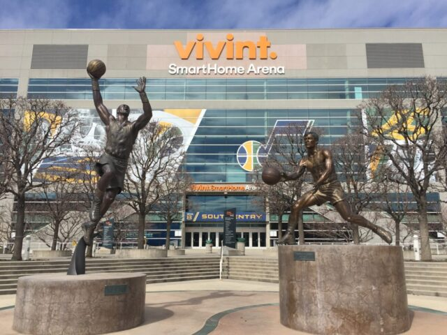 Vivint Smart Home Arena NBA road trips