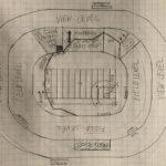 Multipurpose stadium doodle