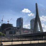 TD Garden and Bunker Hill Memorial Bridge