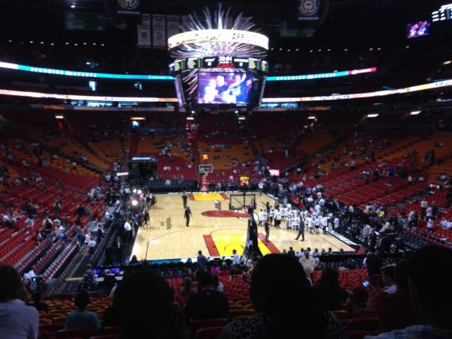AmericanAirlines Arena fans