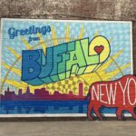 Greetings From Buffalo New York mural