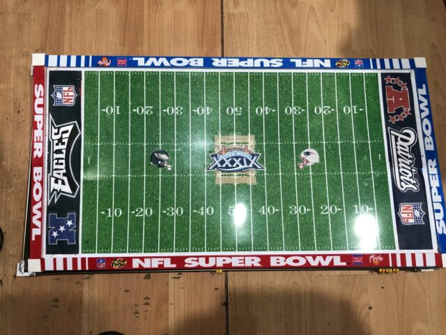 NFL Super Bowl electric football game