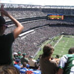 Fans at MetLife Stadium