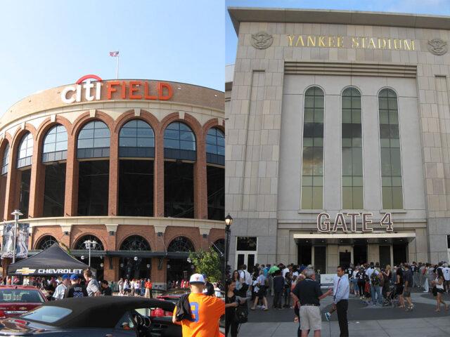 Citi Field and Yankee Stadium