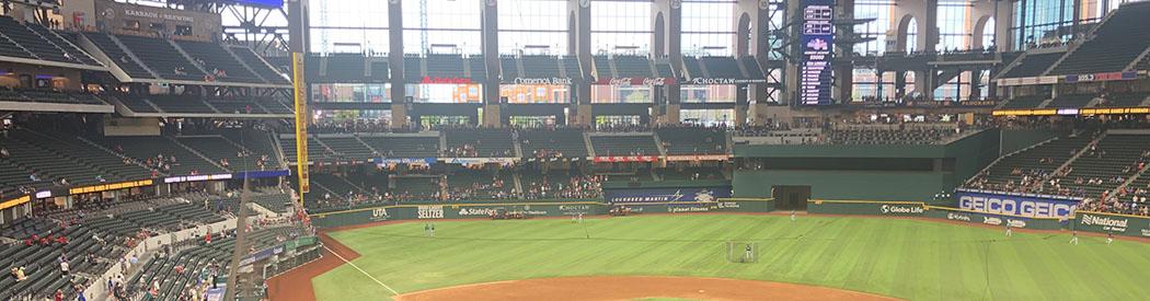 Globe Life Field Texas Rangers