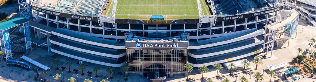 TIAA Bank Field Jacksonville Jaguars events tickets parking seating hotels food